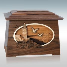 Walnut Sea Coast Astoria - Wood Cremation Urn