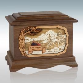Walnut Soulmates Ambassador - Wood Cremation Urn