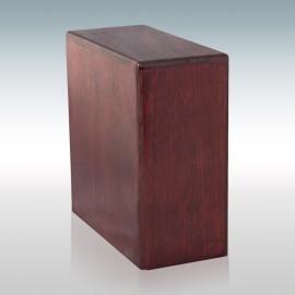 Rosewood Bookshelf - Wood Cremation Urn