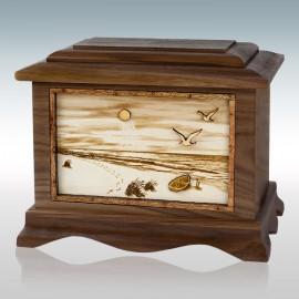 Walnut Beach Ambassador - Wood Cremation Urn