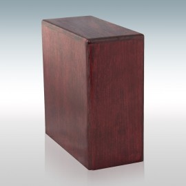 Rosewood Bookshelf - Wood Cremation Urn