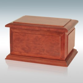 Cherry Boston - Wood Cremation Urn
